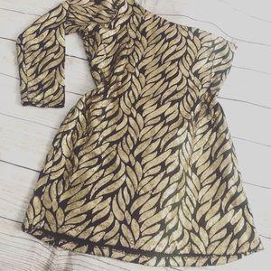 Fashion to figure sequins mini dress S XL black